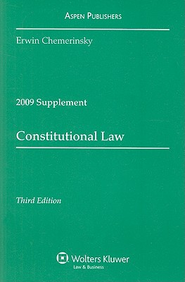 Constitutional Law, Supplement - Chemerinsky, Erwin