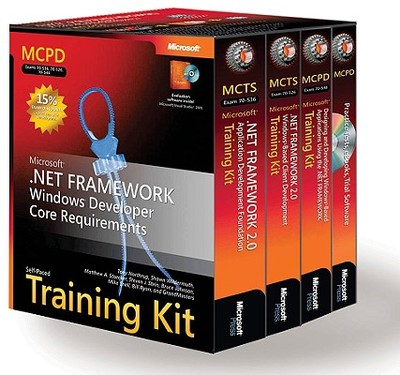 McPd Self-Paced Training Kit (Exams 70-536, 70-526, 70-548): Microsoft .Net Framework Windows Developer Core Requirements: Microsoft(r) .Net Framework Windows(r) Developer Core Requirements - Microsoft Corporation, and Northrup, Anthony, and Northrup, Tony