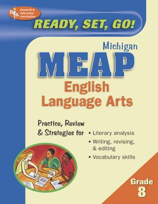 Michigan MEAP: Grade 8 English Language Arts - Staff of Research Education Association