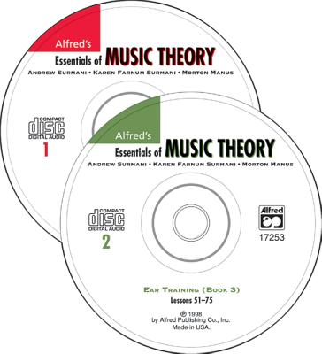 Essentials of Music Theory 1 & 2: Ear Training-Books 1,2,3 - Surmani, Karen, and Manus, Morton, and Surmani, Andrew