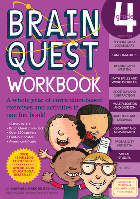 Brain Quest Grade 4 Workbook - Gregorvich, Barbara, and McGee, Patty (Editor)