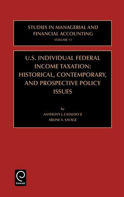 Us Individual Federal Income Taxation - Cataldo, Anthony J, and Savage, Arline A, and Anthony J Cataldo II, J Cataldo II