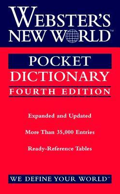 Webster's New World Pocket Dictionary - Webster