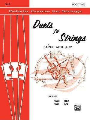 Duets for Strings, Bk 2: Cello - Applebaum, Samuel