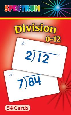 Spectrum Division 0-12 Flash Cards - Carson-Dellosa Publishing