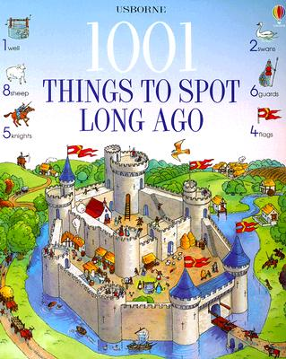 1001 Things to Spot Long Ago - Doherty, Gillian, and Owen, Susannah (Designer)