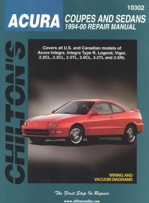 Acura Coupes and Sedans, 1994-00 - Nichols, and Chilton Automotive Books, and The Nichols/Chilton
