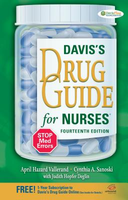 Davis's Drug Guide for Nurses - Vallerand, April, Dr.