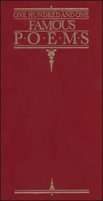 One Hundred and One Famous Poems: With a Prose Supplement - Cook, Roy Jay (Compiled by)