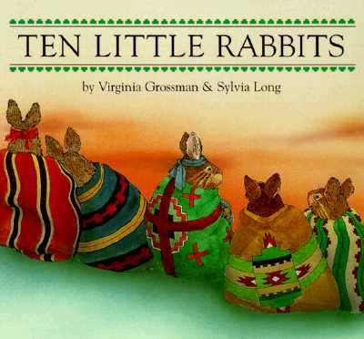 Ten Little Rabbits Board Book - Grossman, Virginia, and Chronicle Books