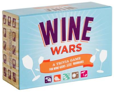 Wine Wars!: A Trivia Game for Wine Geeks and Wannabes - Lock, Joyce