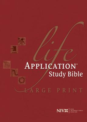 Life Application Study Bible-NIV-Large Print - Tyndale House Publishers (Creator)