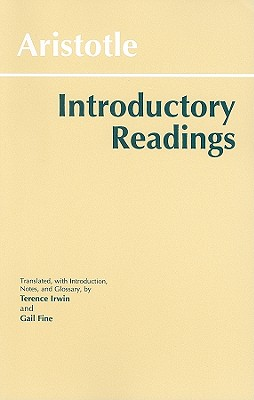 Aristotle: Introductory Readings - Aristotle, and Irwin, Terence (Translated by), and Fine, Gail (Translated by)