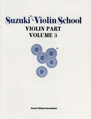 Suzuki Violin School, Vol 3: Violin Part - Suzuki, Shinichi, and Alfred Publishing (Editor)