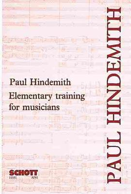 Elementary Training for Musicians - Hindemith, Paul