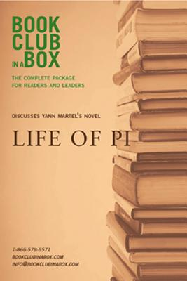 Bookclub-In-A-Box Discusses Life of Pi: A Novel by Yann Martel - Herbert, Marilyn