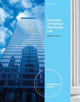 Essentials of Practical Real Estate Law - Hinkel, Daniel F.
