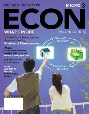 Econ Micro3 (with Coursemate Printed Access Card) - McEachern, William A