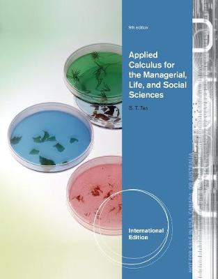 Applied Calculus for the Managerial, Life, and Social Sciences - Tan, Soo Tang
