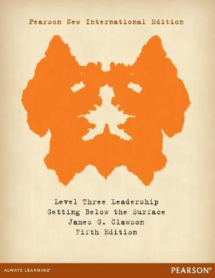 Level Three Leadership: Getting Below the Surface - Clawson, James G.