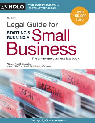 Legal Guide for Starting & Running a Small Business - Steingold, Fred S