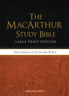 MacArthur Study Bible-NASB-Large Print - MacArthur, John (Editor)