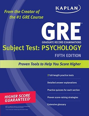 Kaplan GRE Subject Test: Psychology - Kaplan (Creator)