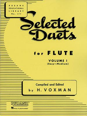Selected Duets for Flute: Volume 1 - Easy to Medium - Himie, Voxman (Editor), and Voxman, H (Editor)