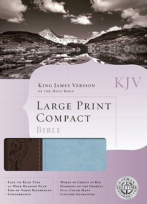 Large Print Compact Bible-KJV - Broadman & Holman Publishers (Creator)