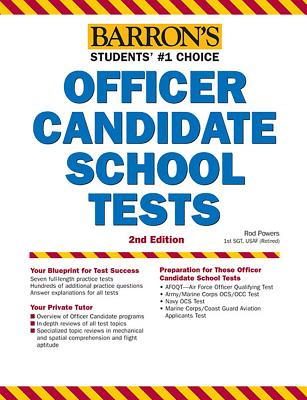 Barron's Officer Candidate School Tests, 2nd Edition - Powers, Rod