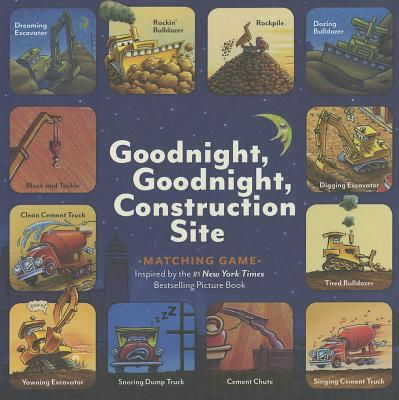 Goodnight, Goodnight, Construction Site Matching Game - Rinker, Sherri Duskey