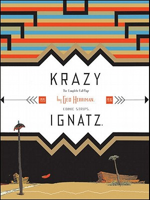 "Krazy & Ignatz 1935-1936: ""A Wild Warmth of Chromatic Gravy"" Krazy Kat - Herriman, George, and Blackbeard, Bill (Editor)"