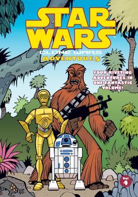 Clone Wars Adventures: Volume 4 - Barlow, Jeremy (Editor)