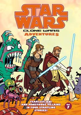 Star Wars: Clone Wars Adventures: v. 7 - Fillbach, Matt (Artist), and Fillbach, Shawn (Artist), and Avellone, Chris