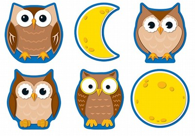Owls & Moons Cut-Out Buddies - Carson-Dellosa Publishing (Creator)