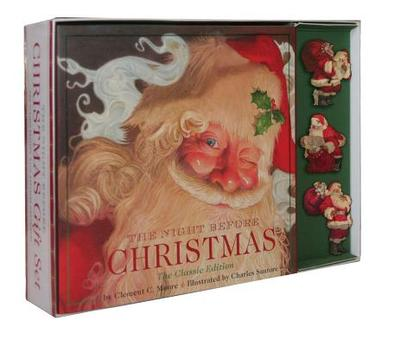 Night Before Christmas Gift Set: The Classic Edition with Keepsake Ornaments - Moore, Clement C
