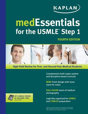 medEssentials for the USMLE Step 1 - Manley, Michael S, M.D., MD (Editor), and Manley, Leslie D, PhD (Editor)
