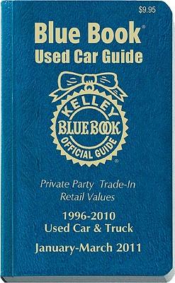 Kelley Blue Book Used Car Guide: Consumer Edition, 1996-2010 Models - Kelley Blue Book (Creator)