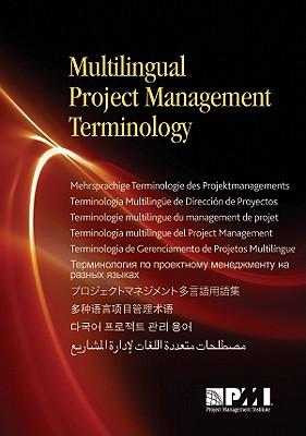 Multilingual Project Management Terminology - Project Management Institute