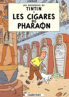 Les Cigares Du Pharaon - Herge