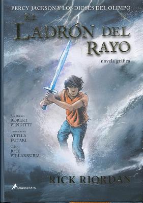 El Ladron del Rayo Novela Grafica - Riordan, Rick, and Venditti, Robert