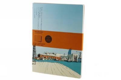 Ms Cover Art Chinese Market Ruled Journal - Moleskine