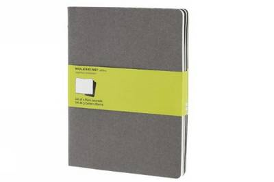 Moleskine Plain Cahier Journal Light Warm Grey Extra Large (Moleskine Cahier) - Moleskine