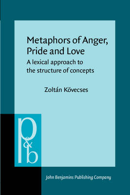 Metaphors of Anger Pride and Love: A Lexical Approach to the Structure of Concepts - Kovecses, Zoltan