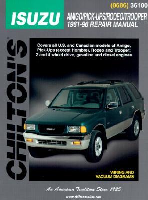 Isuzu Trooper and Vauxhall Monterey, Brava Pick-up and Midi-van (1981-96) - Nichols/Chilton