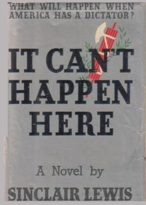It Can't Happen Here - Lewis, Sinclair, and Sloan, Sam (Introduction by)