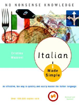 Italian Made Simple: Revised and Updated - Mazzoni, Cristina