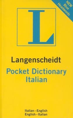 Italian Pocket Dictionary - Langenscheidt Publishers (Creator)