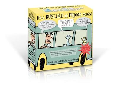 It's a Busload of Pigeon Books! -