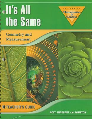 It's All the Same: Geometry and Measurement - Romberg, Thomas A